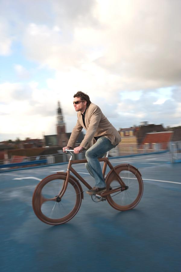 Design Holz Studio MObelvertrieb Agentur ~ Fahrrad aus Holz von Jan Gunneweg Das Design der Woche