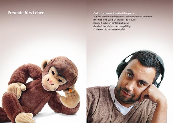 Printwerbung bei Machart Studios - Designer Carlos
