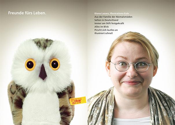 Printwerbung Werbeagentur Mannheim - Illustratorin Diana