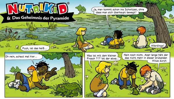 Werbecomic Nutrikid von Nestlè