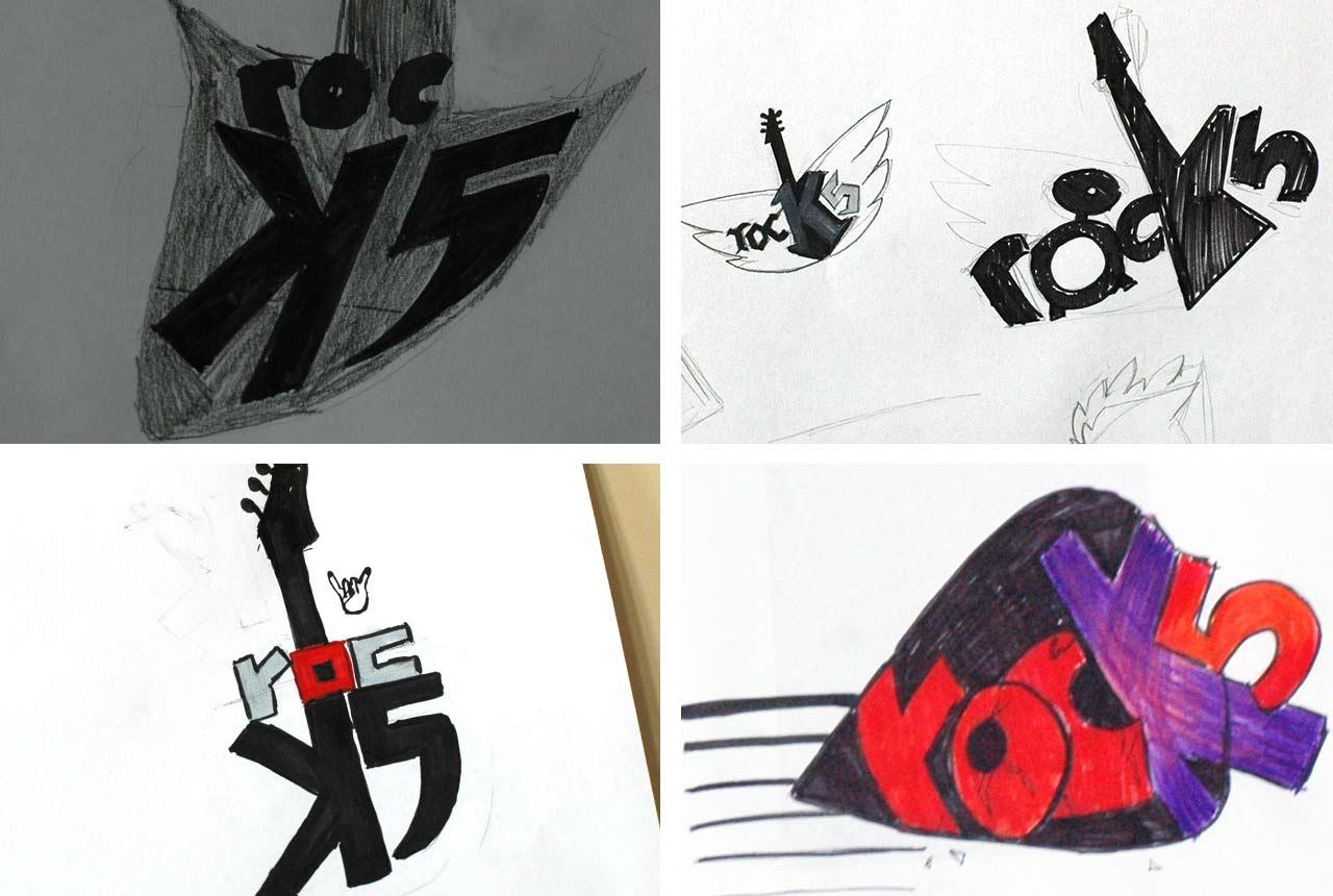 workshop f r sch ler von der idee zum fertigen band logo. Black Bedroom Furniture Sets. Home Design Ideas