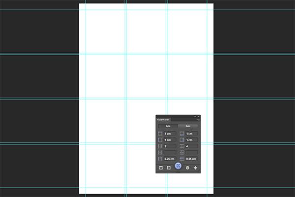 Hilfslinienraster erstellen in Photoshop