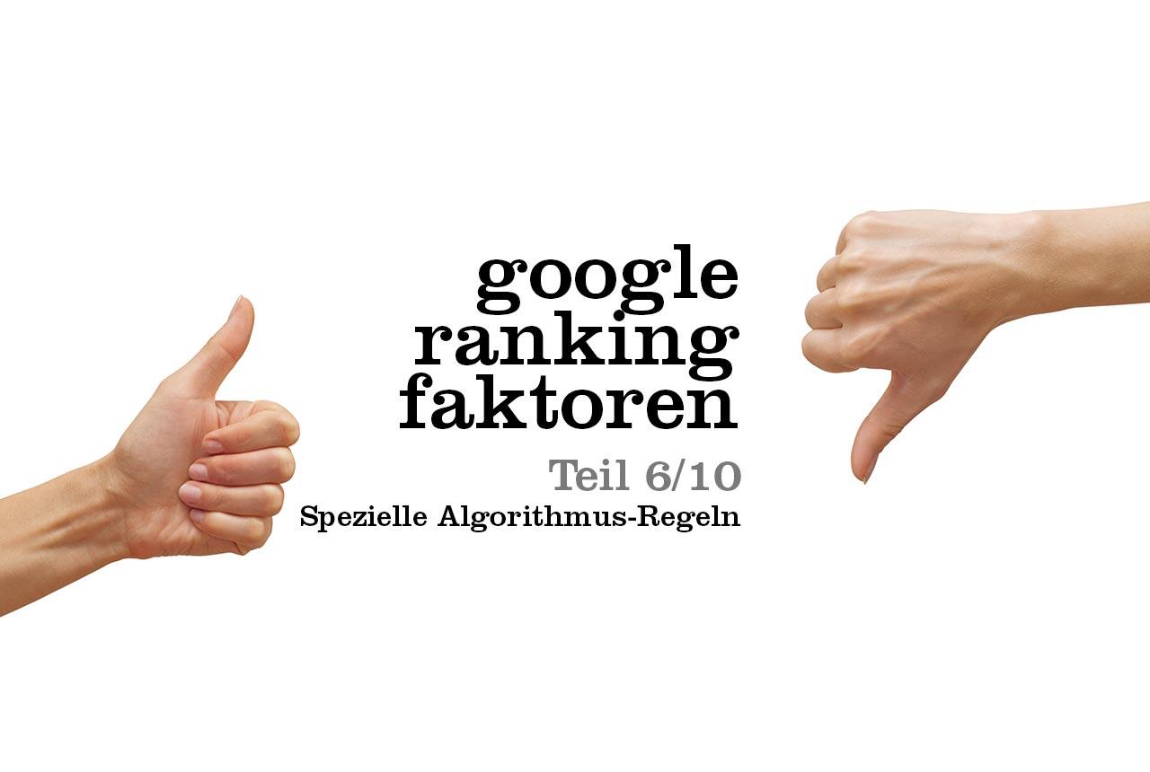 Hier findest du die wichtigsten Google Ranking Faktoren zur Suchmaschinenoptimierung