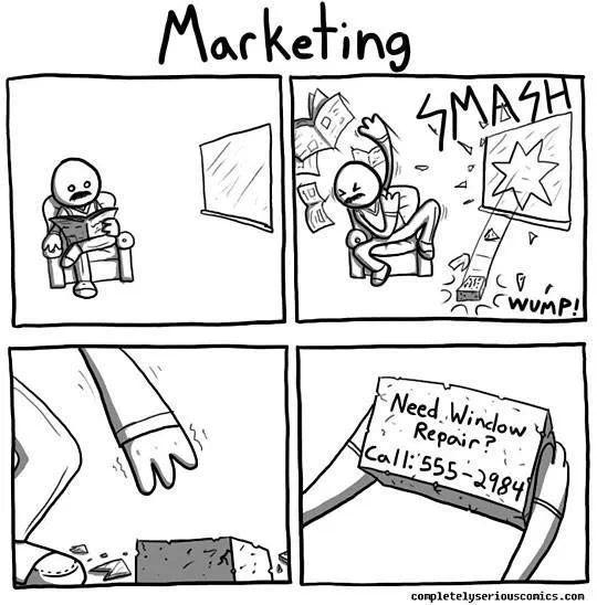 Marketing - so einfach kann es sein