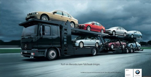 mercedes-truck-with-bmw-cars-ad