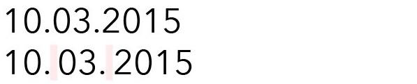So geht die Typographie beim Datum