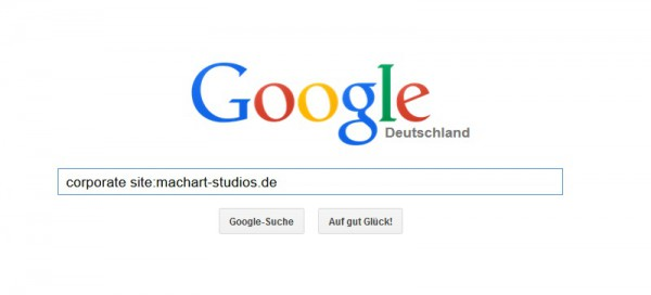 So funktioniert der Site-Befehl bei der Google-Suche