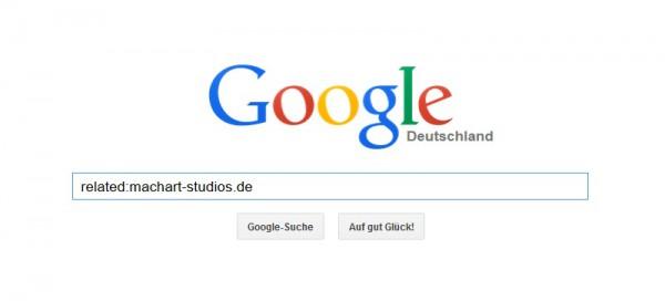 So funktioniert der Related-Suchbegriff in der Google-Suche