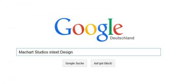 Intext bei der Google-Suche