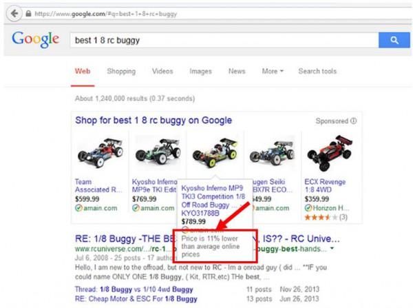 Das ändert sich beim Preisvergleich der Product Listing Ads