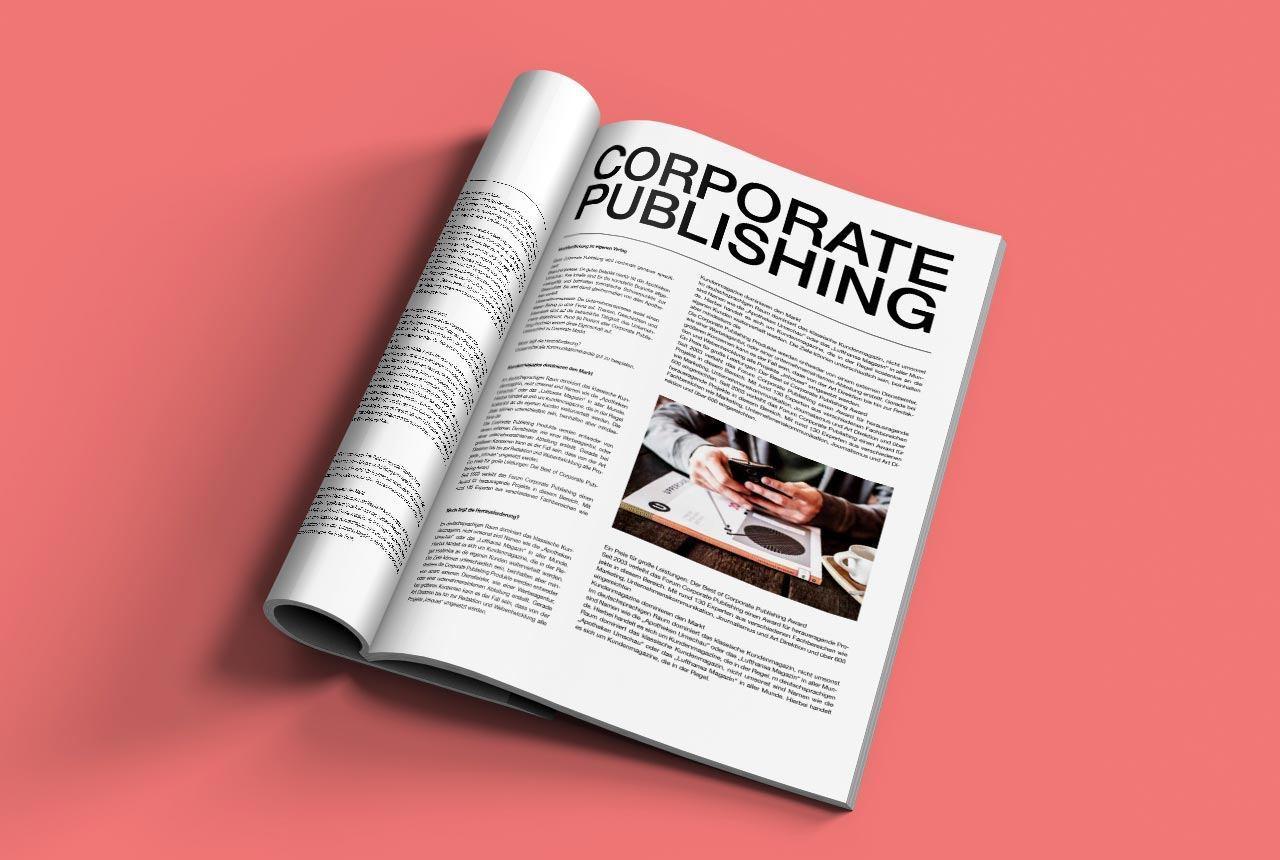 So geht Corporate Publishing im Rahmen der Unternehmenskommunikation