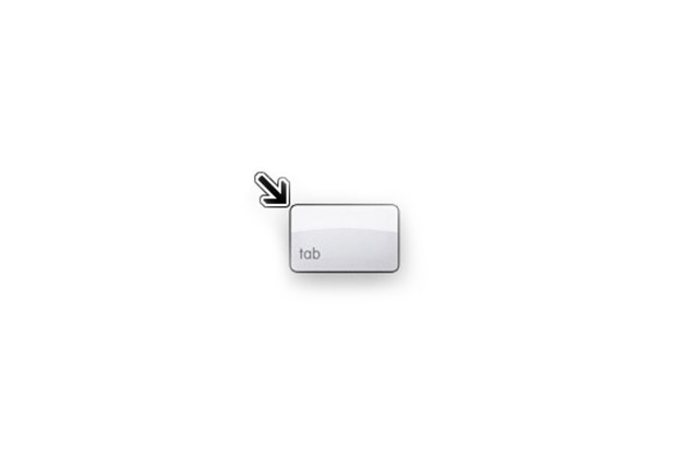 Tastaturnavigation visualisieren