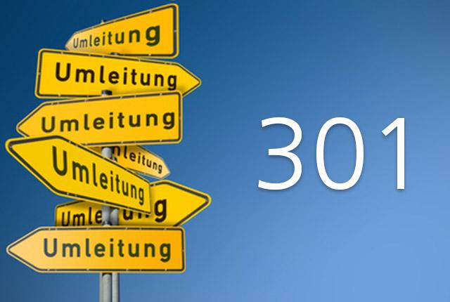 .htaccess: 301 Weiterleitungen, URLs und mehr
