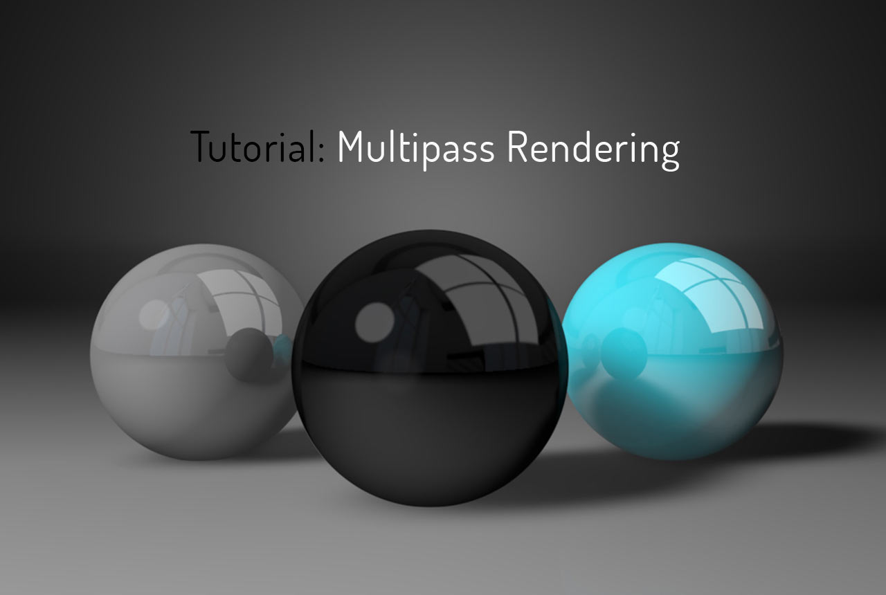 Tutorial zum Multipass Rendering in Cinema 4D