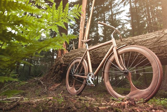 fahrrad aus holz von jan gunneweg das design der woche. Black Bedroom Furniture Sets. Home Design Ideas
