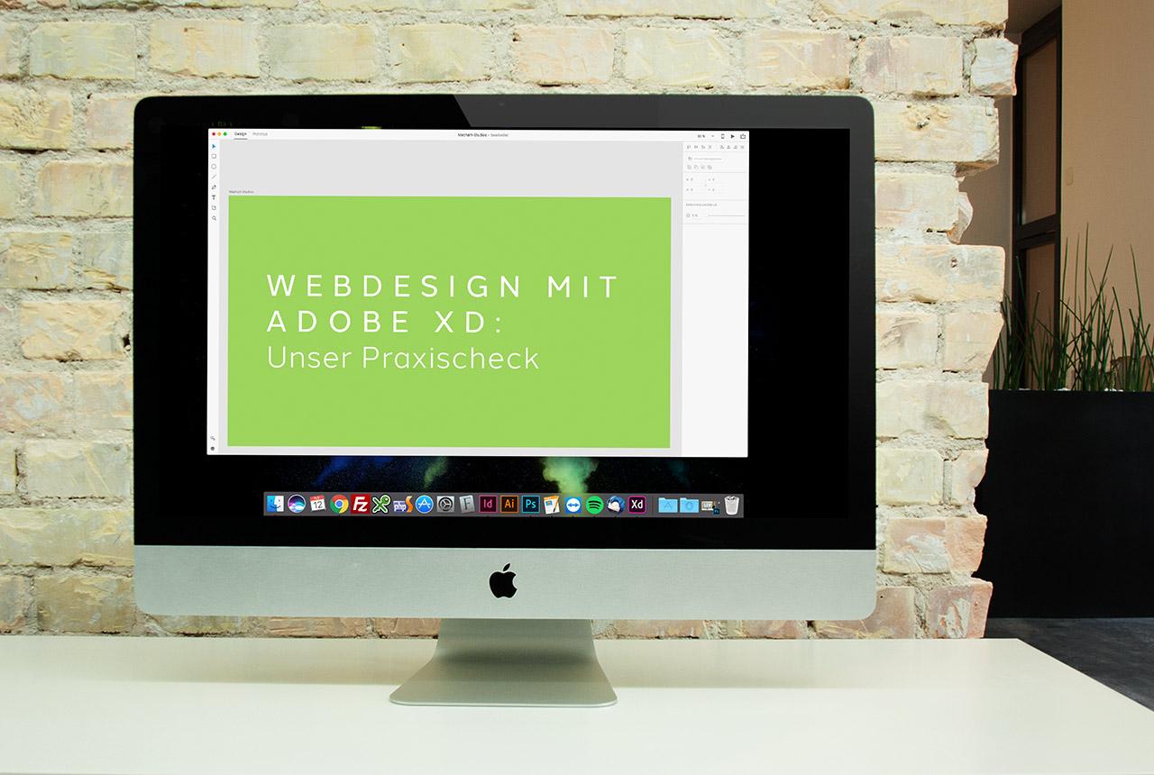 Webdesign mit Adobe XD