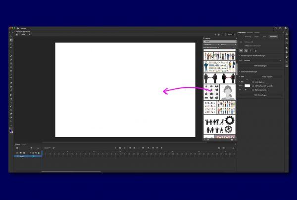 Adobe Stock direkt in Adobe Animate